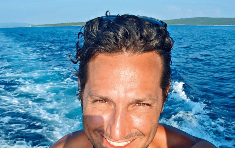 Jernej Tozon je fantovskem dopustu lovil morske deklice! (foto: osebni arhiv )