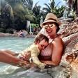 Tamara Ecclestone bo svojo hčerko dojila vse do osnovne šole