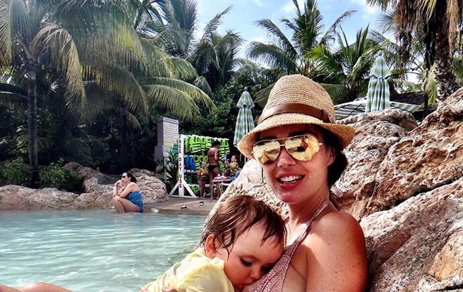Tamara Ecclestone bo svojo hčerko dojila vse do osnovne šole (foto: Profimedia)