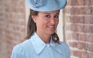 Pippa Middleton nosila plašč, ki še kako spominja na tistega, ki smo ga videli pri Meghan Markle