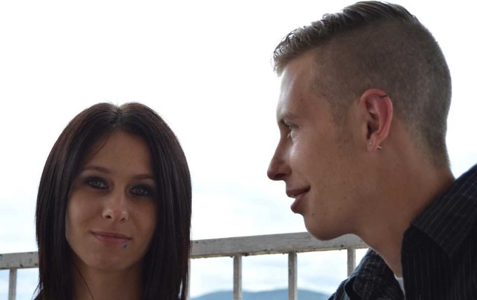 Tamara Korošec in Renato Lužar (Ljubezen po domače) mesece po koncu šova še vedno do ušes zaljubljena (foto: Aleš Rod)