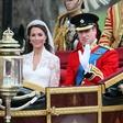 Kate Middleton in princ William na poročno noč kršila kraljeva pravila