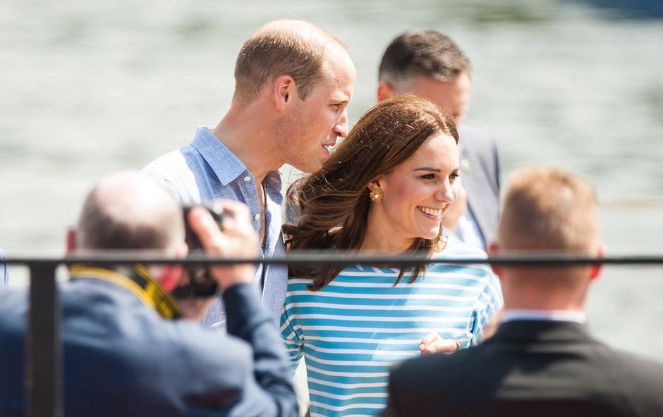 Princ William in Kate Middleton sta se zabavala do zgodnjih jutranjih ur (foto: Profimedia)