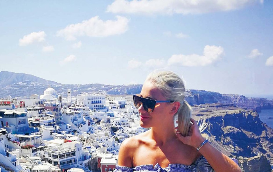 Indira Ekić: Ujeta v Grčiji (foto: osebni arhiv )