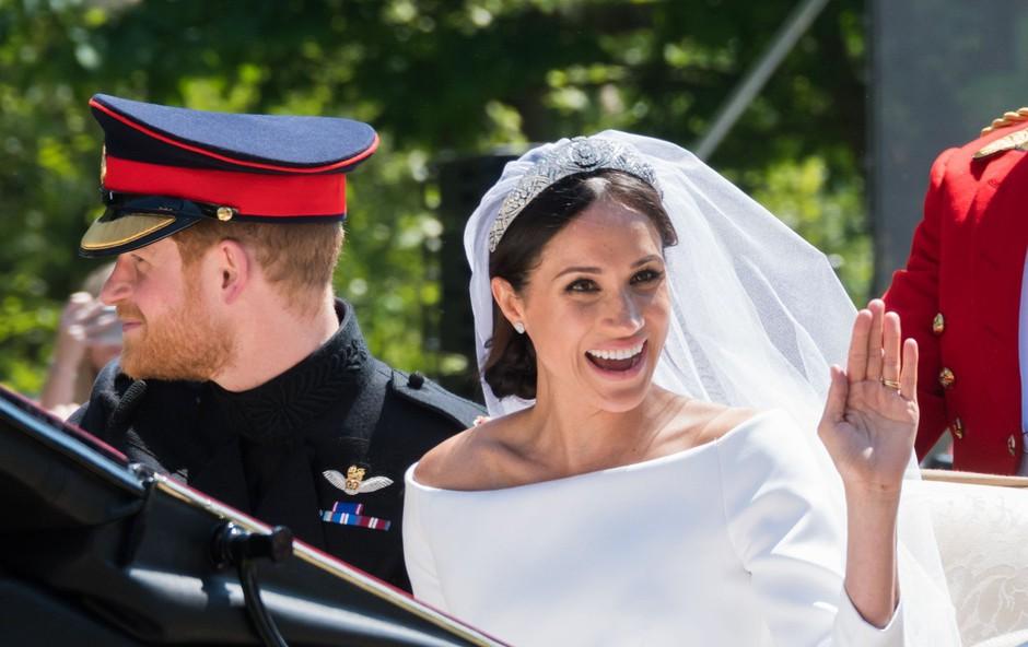 Zakaj se je princ Harry po poroki tisočkrat zahvalil mojstru ličenja, ki je naličil Meghan Markle? (foto: Profimedia)