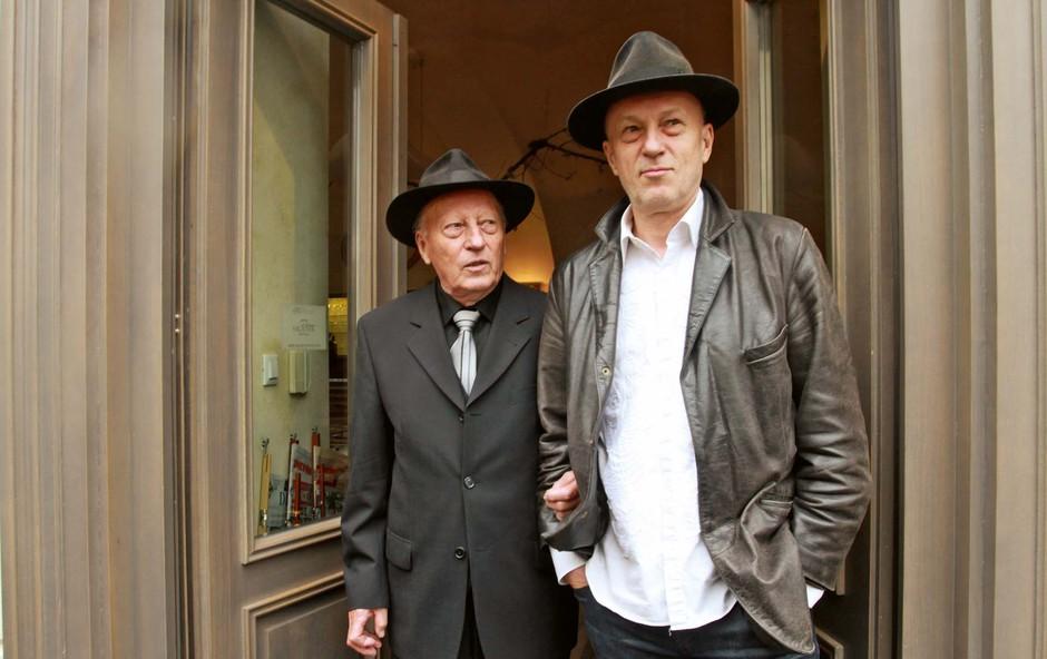 Vlado Kreslin je začel kot bobnar (foto: GORAN ANTLEY )