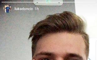 Luka Dončić v Ameriko potuje z Anamario!