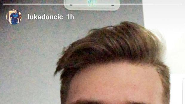 Luka Dončić v Ameriko potuje z Anamario! (foto: osebni arhiv )