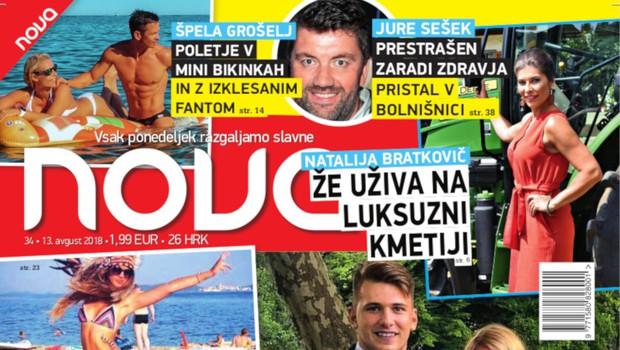Razkrivamo! Luka Dončić z Anamario v Ameriko! (foto: Nova)