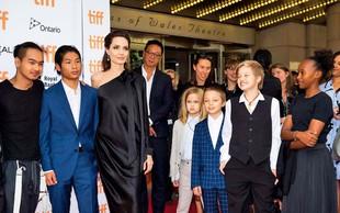 Angelina Jolie ni za dogovor z Bradom Pittom
