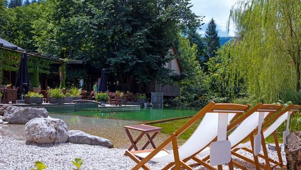 Eko resort - razvajanje v neokrnjeni naravi! (foto: Helena Kermelj)