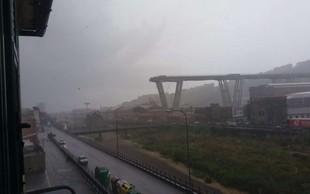 Število žrtev zrušenja viadukta v Genovi se je povzpelo na 42