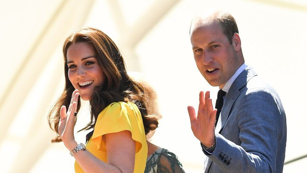 William in Kate sta zadovoljna, Harry in Meghan pa verjetno ne! (foto: Profimedia)
