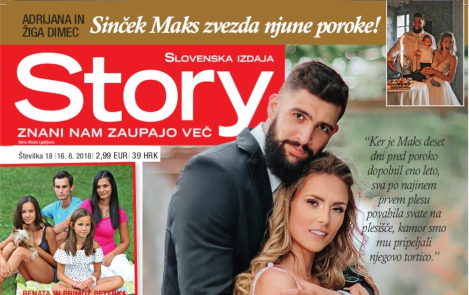 Adrijana in Žiga Dimec: Solze so lile v potokih (foto: story)