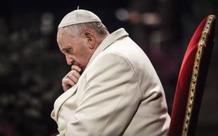Papež Frančišek znova odločno proti splavu