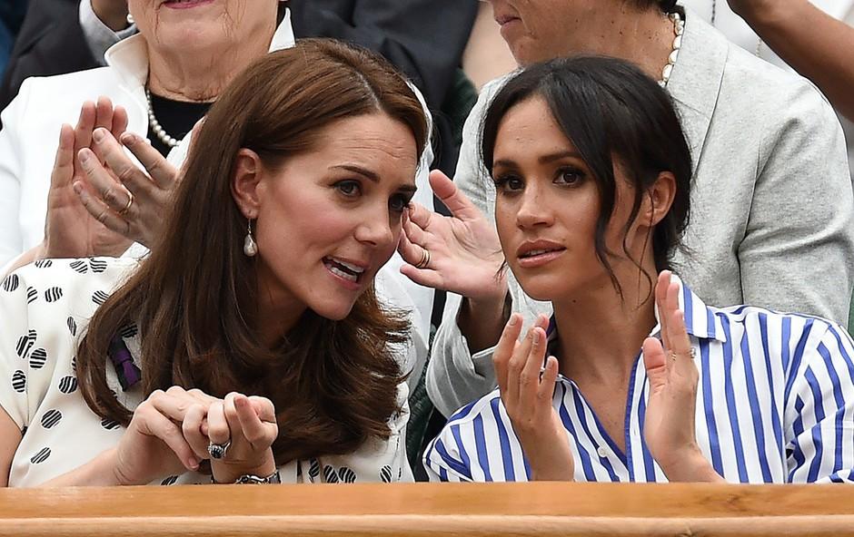 Poglejte si, kaj je Meghan Markle pred štirimi leti javno zapisala o Kate Middleton (foto: Profimedia)