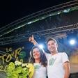 Primož Roglič in Lora Klinc: Primoževa zmaga je tudi njena