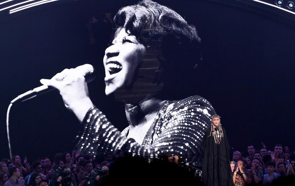 Znani glasbeniki se bodo s koncertom poklonili Arethi Franklin (foto: Profimedia)