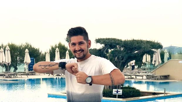 Miha Novak (Čuki): Glasbenik dočakal dopust (foto: osebni arhiv )