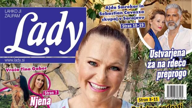 Nuša Derenda: Na dopustu sprejela težko odločitev (foto: Lady)