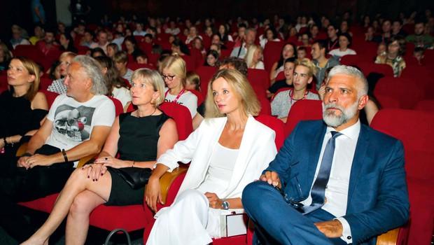 Ajda Smrekar in Sebastian Cavazza: Jokali so tudi odrasli (foto: Yunus Demirbaş)