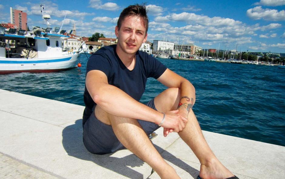 Jaka Mankoč ne pogreša morja (foto: osebni arhiv )