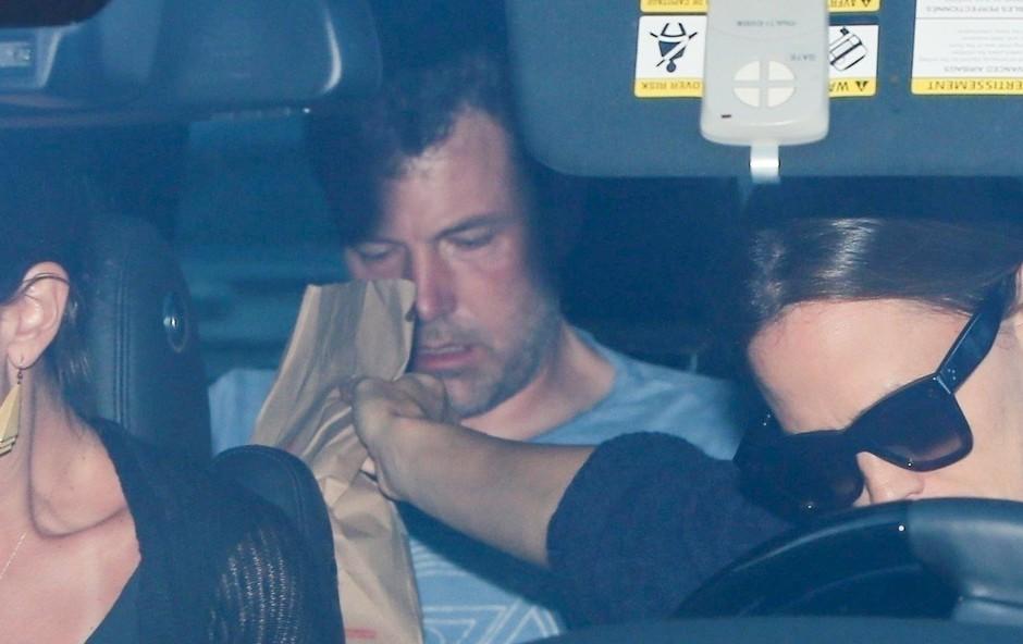 Ben Affleck še tretjič na kliniki za odvajanje od alkohola (foto: Profimedia)