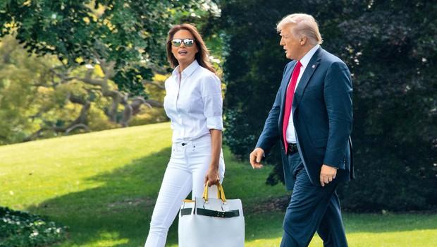 Starši Melanie Trump postali Američani (foto: Profimedia)