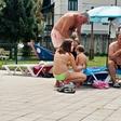 Saša in Luka Dončić: Sin v Kaliforniji, oče na ljubljanskem bazenu!