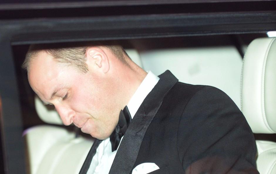 Princ William ima na čelu že dolgo časa veliko brazgotino (foto: Profimedia)