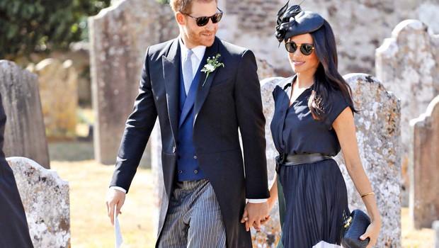 Angleški dvor: Meghan in Harry ne bosta zakonska skrbnika svojih otrok (foto: Profimedia)