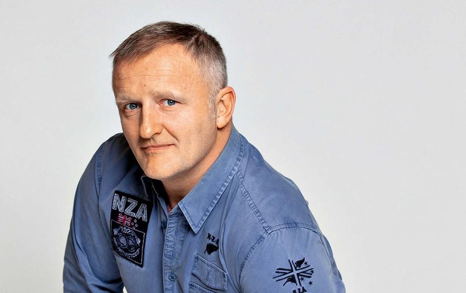 Marko Hren: Plesni mojster ima rad stare motorje (foto: osebni arhiv )