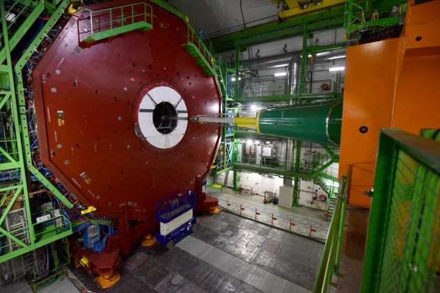 Znanstveni preboj v Cernu: Prvič opazovali razpad Higgsovega bozona! (foto: Tamino Petelinšek/STA)