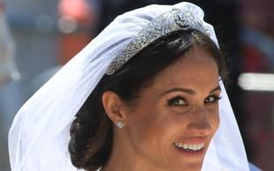 Poročna obleka vojvodinje sussekške bo postavljena na ogled