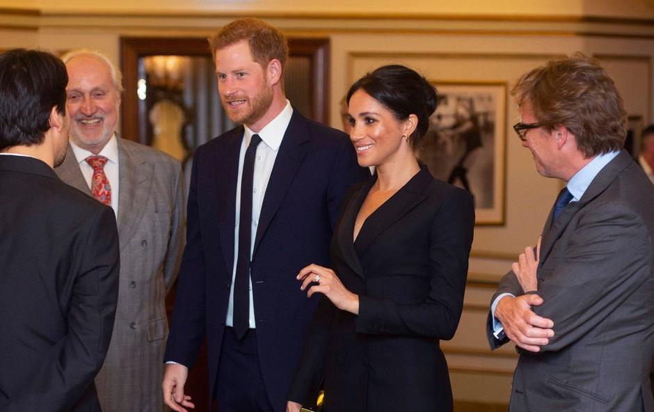 Tako kratke obleke Meghan Markle na kraljevem dvoru še ni nosila (foto: Profimedia)