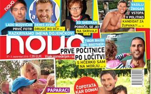 """Vesna in Miha (Ljubezen po domače): """"Fačuzi"""" v sodu, čofotata kar doma"""