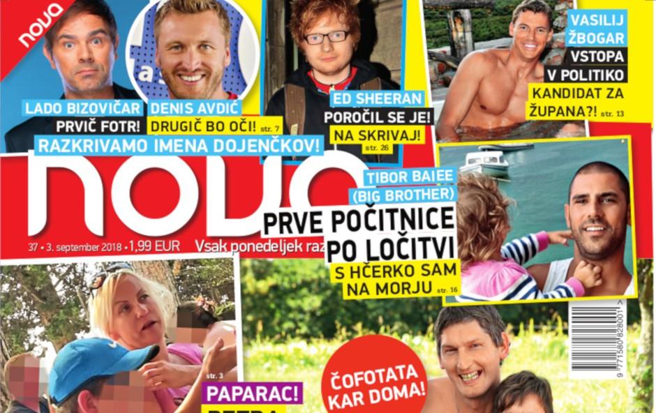 """Vesna in Miha (Ljubezen po domače): """"Fačuzi"""" v sodu, čofotata kar doma (foto: Nova)"""