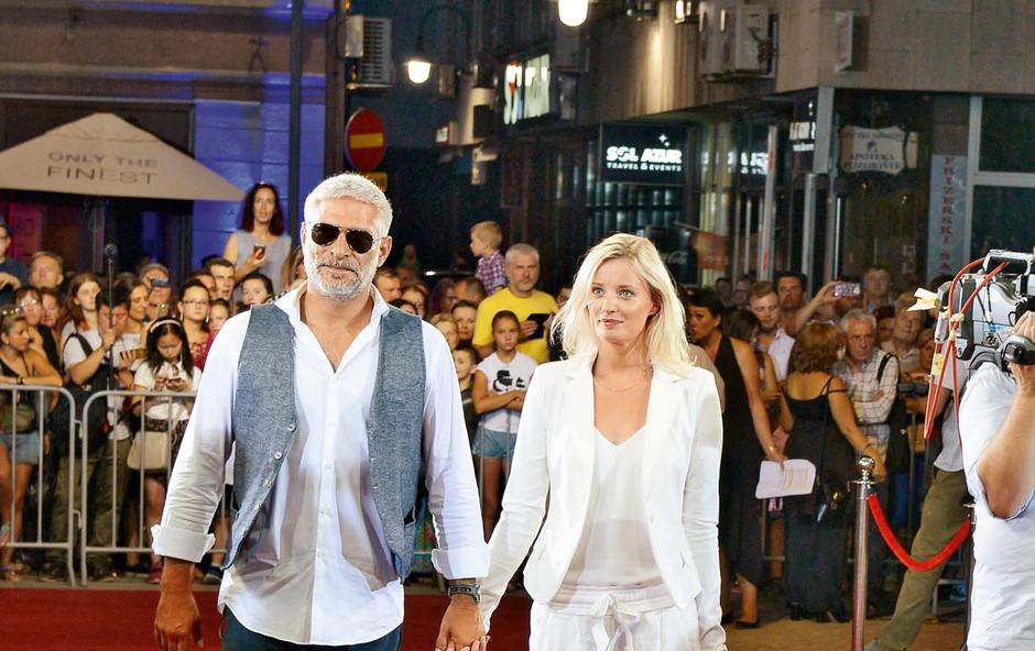 Sebastian Cavazza in Ajda Smrekar: Sanjski gledališki par (foto: Primož Predalič)