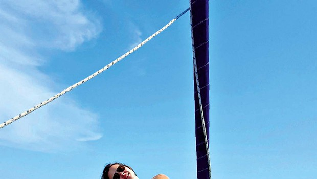 Iryna Osypenko in Matjaž Nemec sta zadovoljna s poletjem (foto: osebni arhiv )