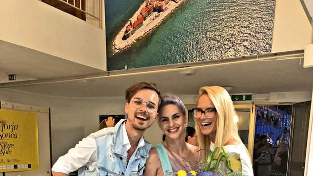 Lea Sirk podpira mlade modne talente (foto: Katja Kodba)