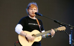 Ed Sheeran na prvem mestu po zaslužku s turnejo v letu 2018