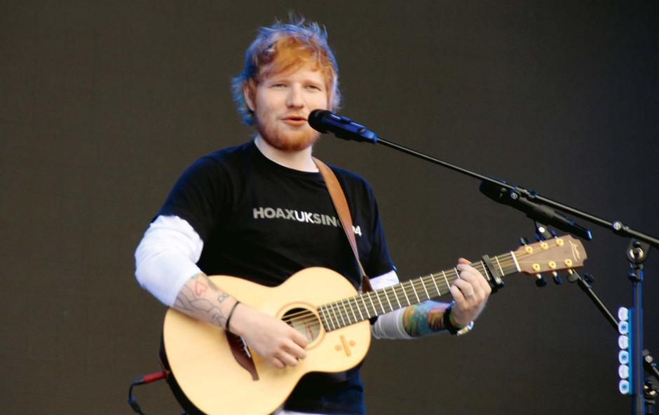 Ed Sheeran se poslavlja z odrov, več časa bo posvetil svoji ženi (foto: Profimedia)