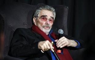 Umrl je ameriški filmski igralec Burt Reynolds