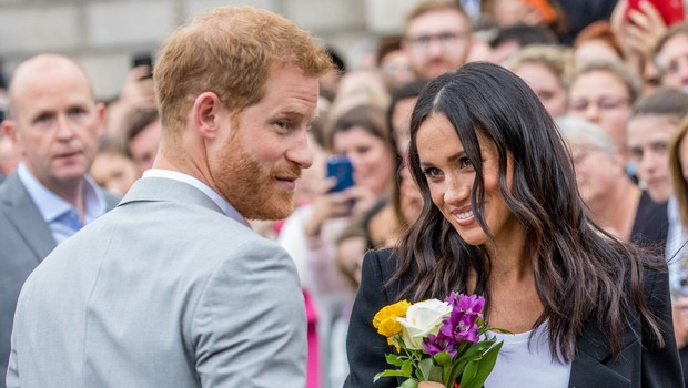 Poglejte si vse nežne trenutke, ko sta si princ Harry in Meghan Markle v javnosti izkazovala ljubezen (foto: Profimedia)