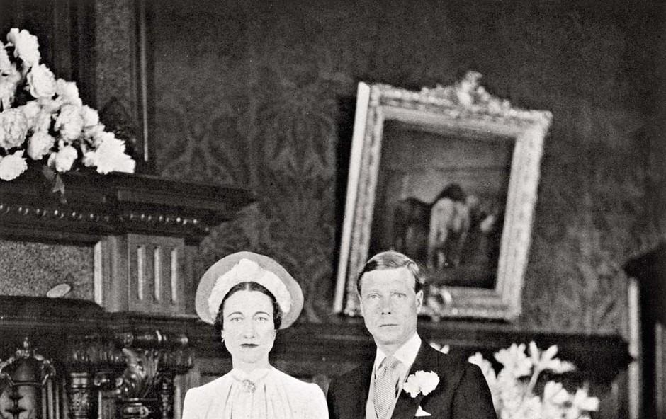 Kralj Edvard VIII. in Wallis Simpson: Vedno so mu bile všeč ločenke (foto: Profimedia)