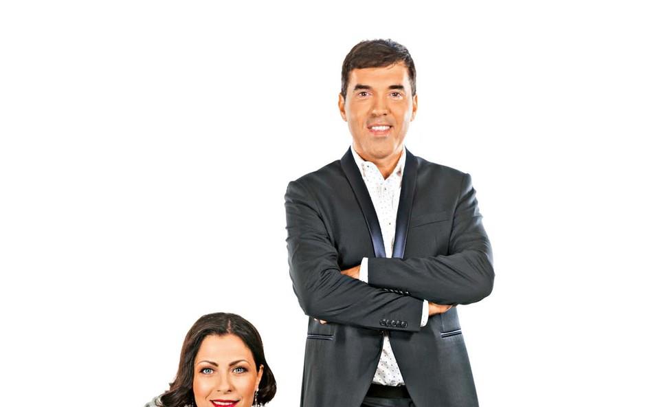 Mario Galunič in Nuška Drašček: Nuško je kot strela z jasnega zadelo povabilo Maria Galuniča (foto: Žiga Culiberg)