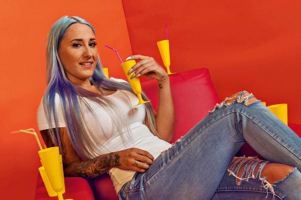 Seksi fotografije Noemi iz Bara, ki so bile objavljene v reviji Playboy (foto: Planet TV)