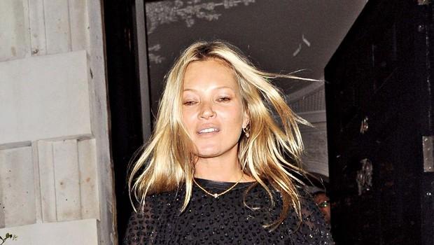 Kate Moss je včasih vino pila že za zajtrk! (foto: Profimedia)