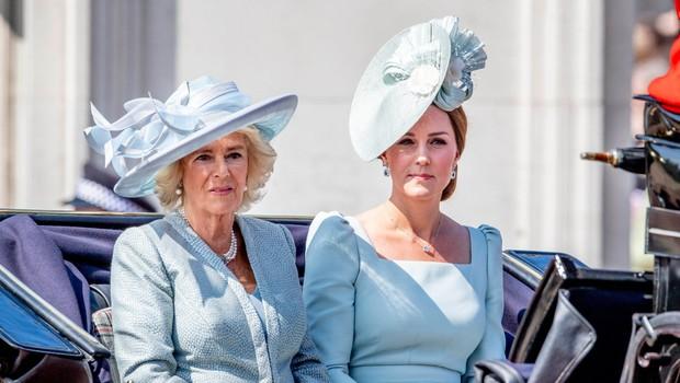 Camilla Parker-Bowles se je trudila ločiti Kate Middleton in princa Williama, za Kate pa je govorila, da je lepa, a ne preveč pametna (foto: Profimedia)