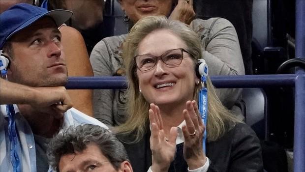 Poglejte si, kako čustveno je Meryl Streep navijala na teniškem turnirju in nasmejala vse okoli sebe (foto: Profimedia)